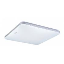 Strühm Adis 20 W-os 280x280 mm négyzet alakú natúr fehér mennyezeti lámpa IP44-es védettségű